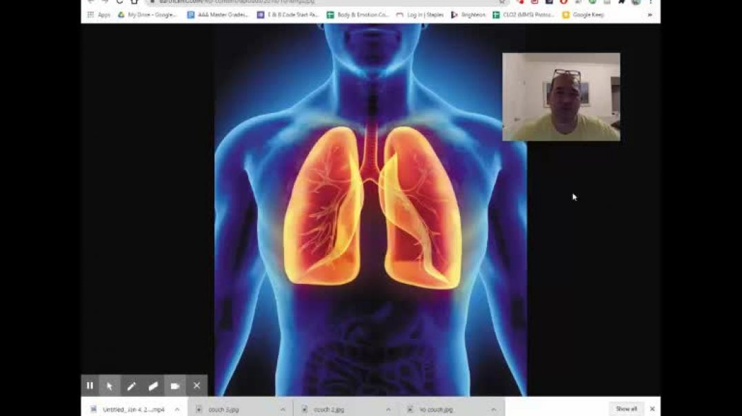 AH.  MMS QUICK-VIDS:  Lung treatment with Chlorine Dioxide (Be very careful to follow instructions)