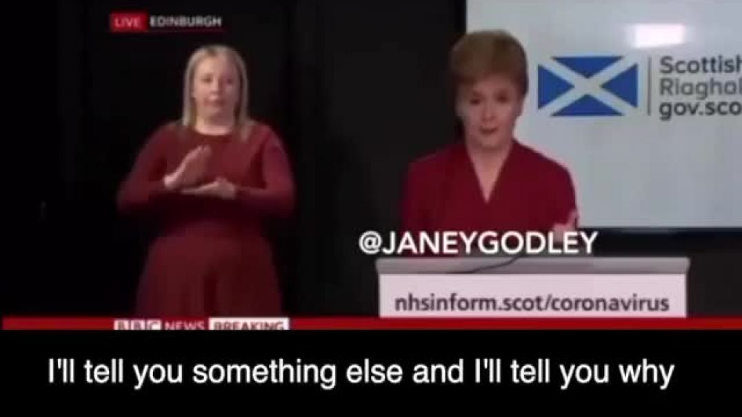 Sturgeon announcement of 3rd Lockdown on 4th January 2021