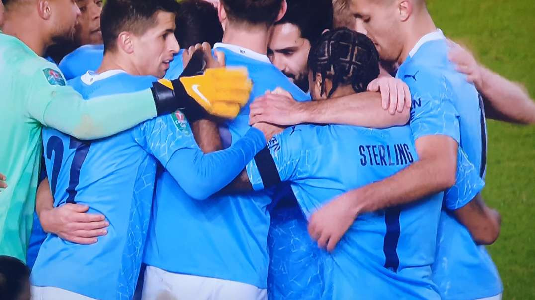 Manchester City Celebrating....and You're Not Seeing Your Family At Present?