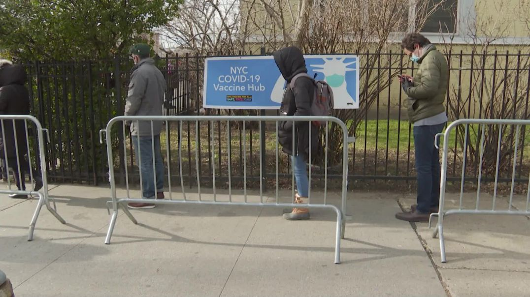 New Yorkers line up in the Bronx for the NWO COVID VAXX in January!  WHY?