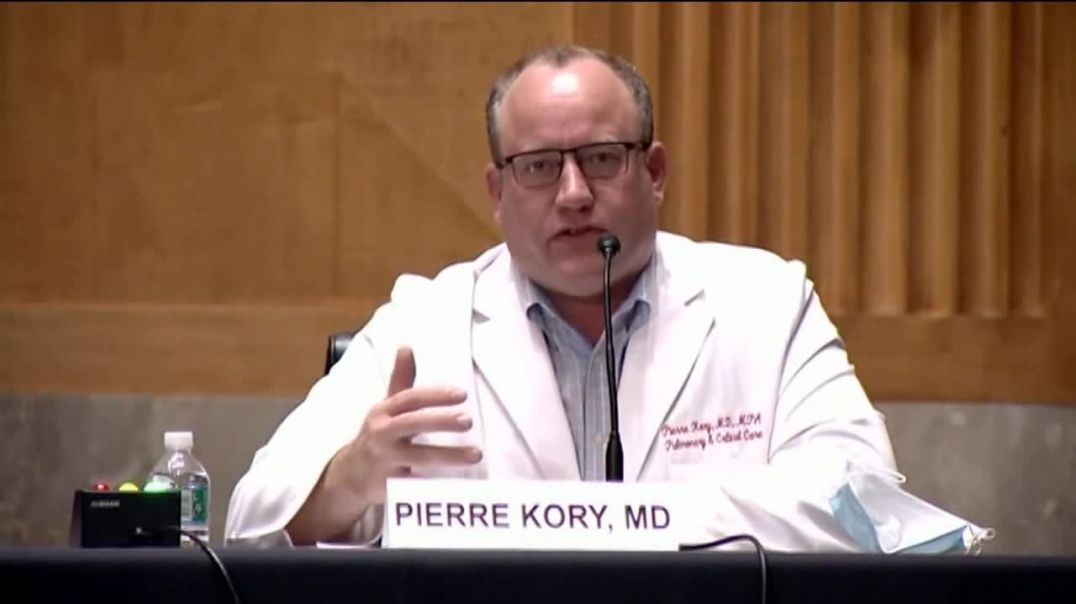 Dr Kory adresses the US senate about his findings on  ivermectin