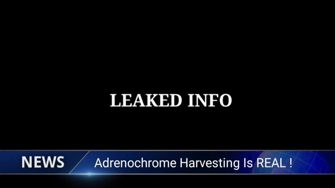 Adrenochrome  The Leaked Documents