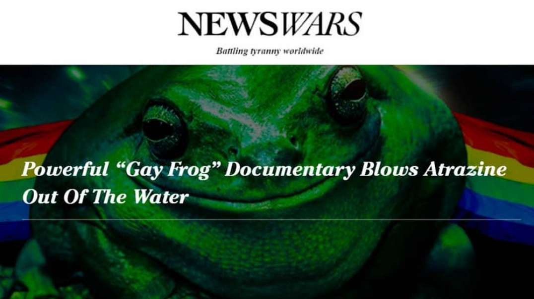 The Truth Behind the Penis Shrinking Gay Frogs Chemical