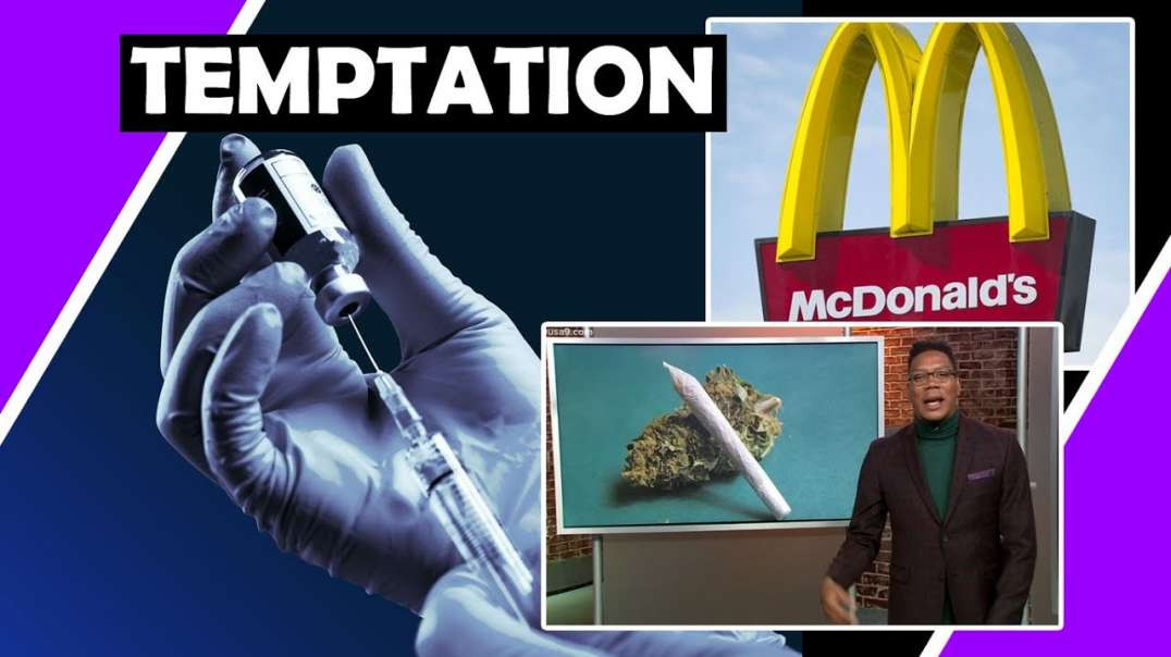 Lead us NOT into TEMPTATION but DELIVER us from NWO EVIL? Money and Joints for Jabs!