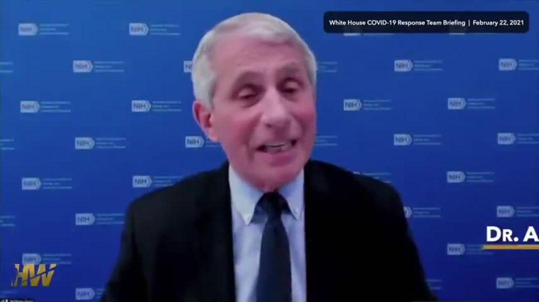 FAUCI IN HOT WATER!   (NOT HOT ENOUGH!!!)