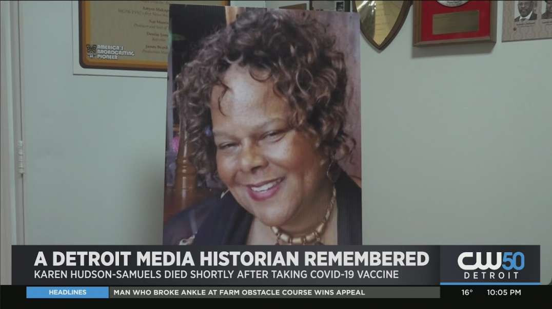 Former Detroit TV Anchor Dies One Day After Taking NWO COVID Vaccine!