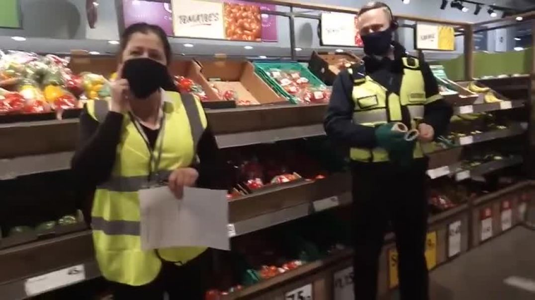 Morrisons Phone The Police Over Man Who Refuses Their Totalitarian Rules