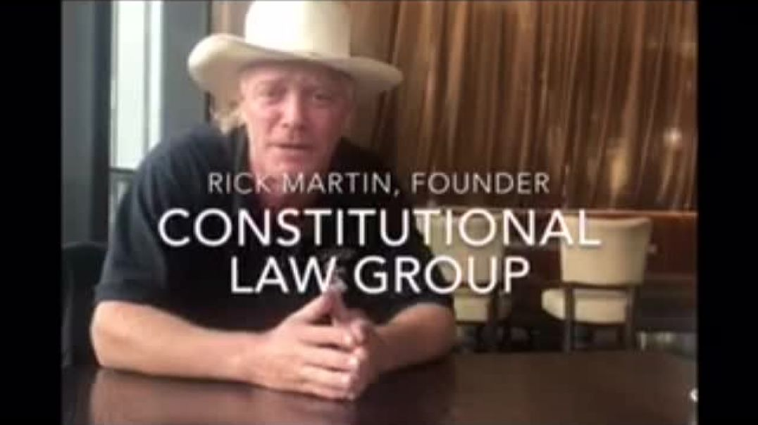 US Constitutional lawyer Rick Martin