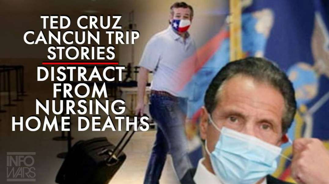 Leftist Media Focuses on Ted Cruz Cancun Trip Over Nursing Home Deaths