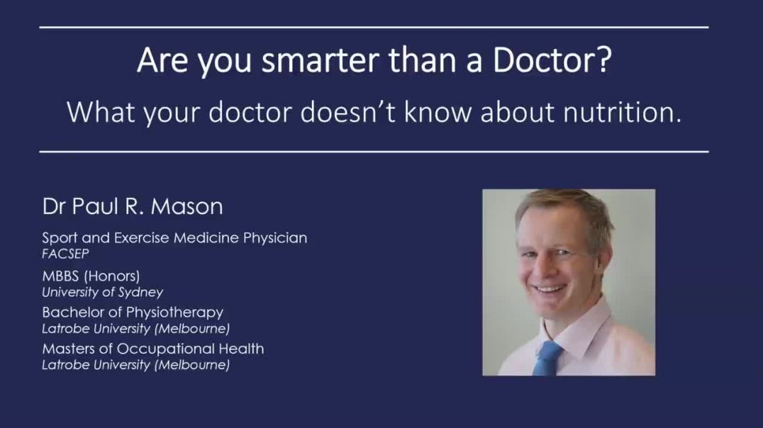Are you smarter than a Doctor? What your doctor doesn't know about nutrition...