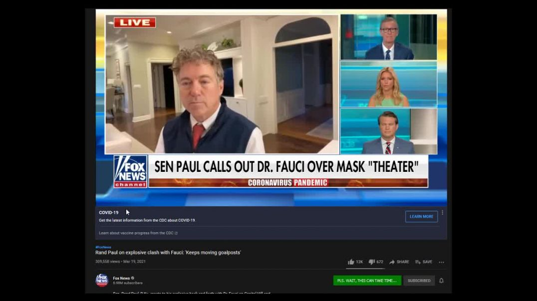 SELLOUTS!!! Rand Paul and Fox News Promote NWO Big Pharma Poison!