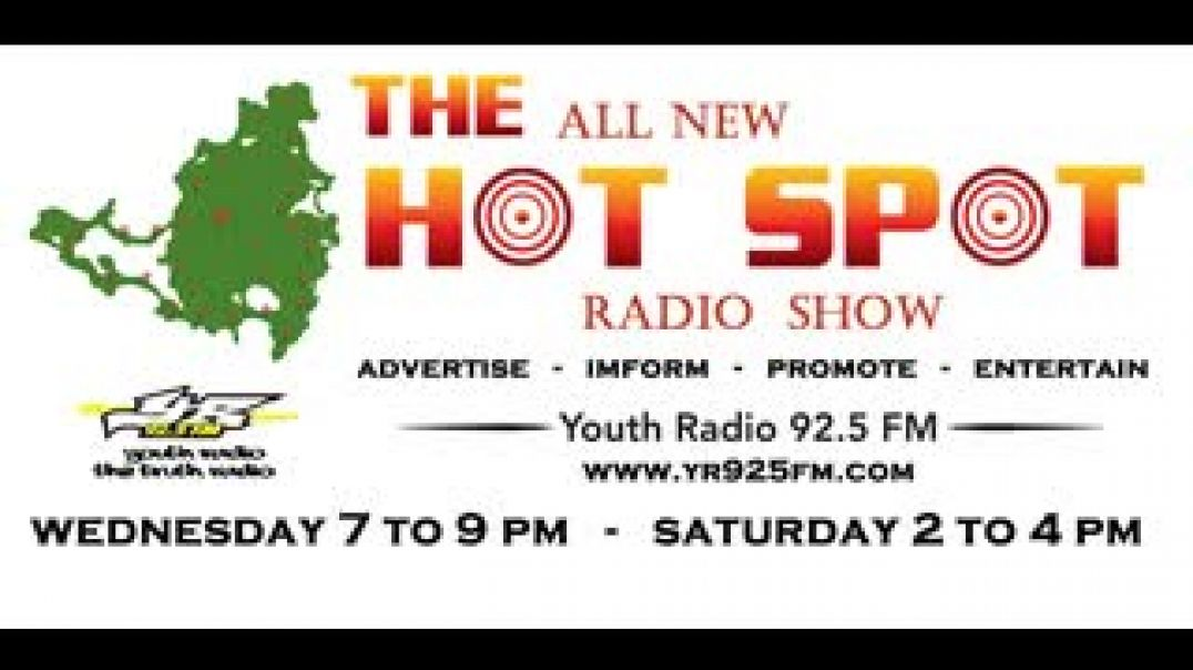 SATURDAY MARCH 27 LET TALK ON THE HOTSPOT