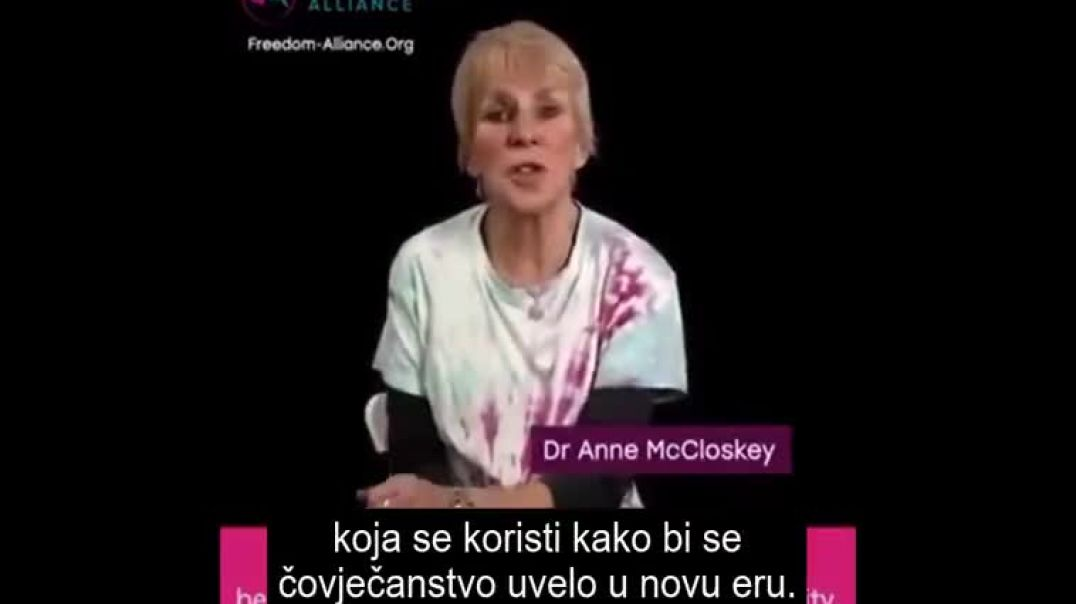 Dr. Anne McCloskey - WORLD WIDE RALLY FOR FREEDOM 20th March 2021