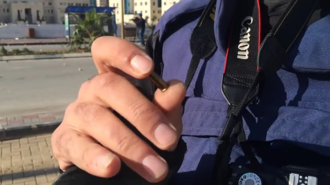 What Israeli soldiers are shooting at Palestinians