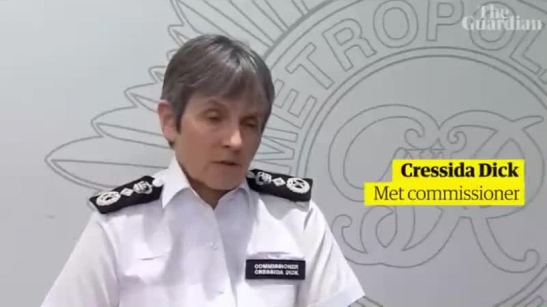 DAME Cressida dick REFUSES TO RESIGN over the rough handling of peaceful women at vigil
