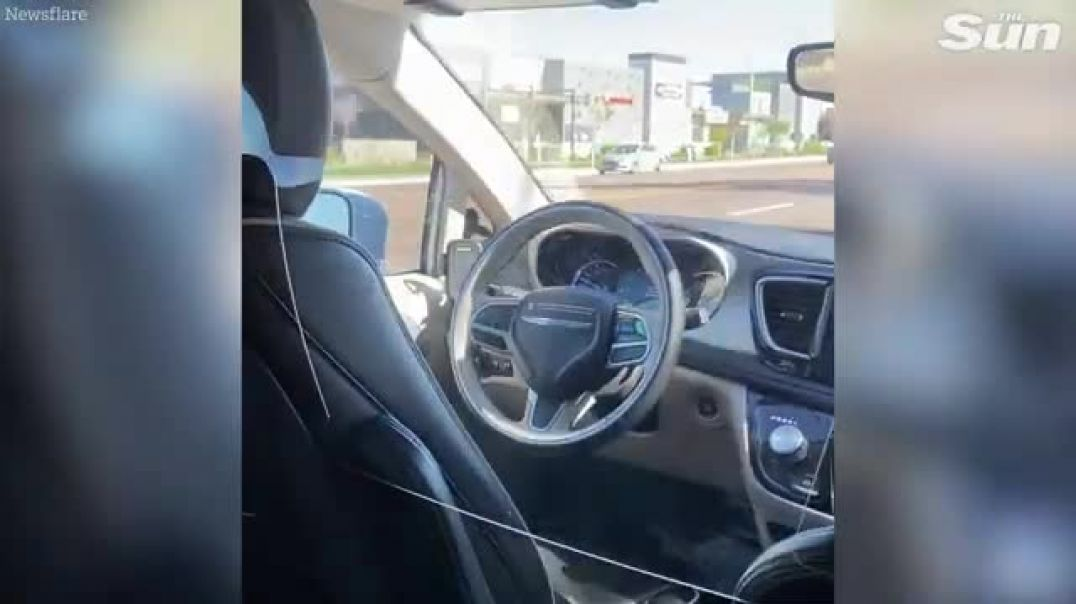 A Trip in a Driverless Car.