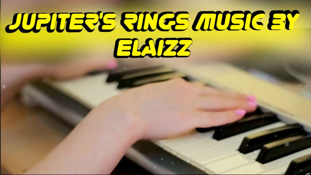 Sleep music: Elaizz - Jupiter's rings. I play on piano for sleeping. Asmr lullaby music