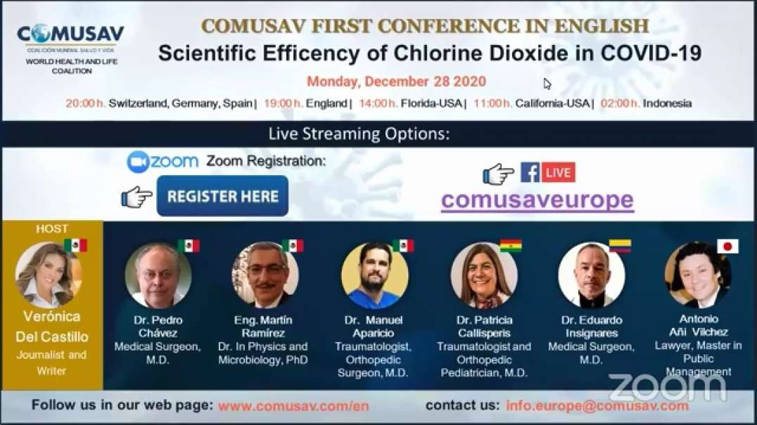 COMUSAV - Questions and Answers - COVID-19 Treatment With Chlorine Dioxide Solution (CDS)