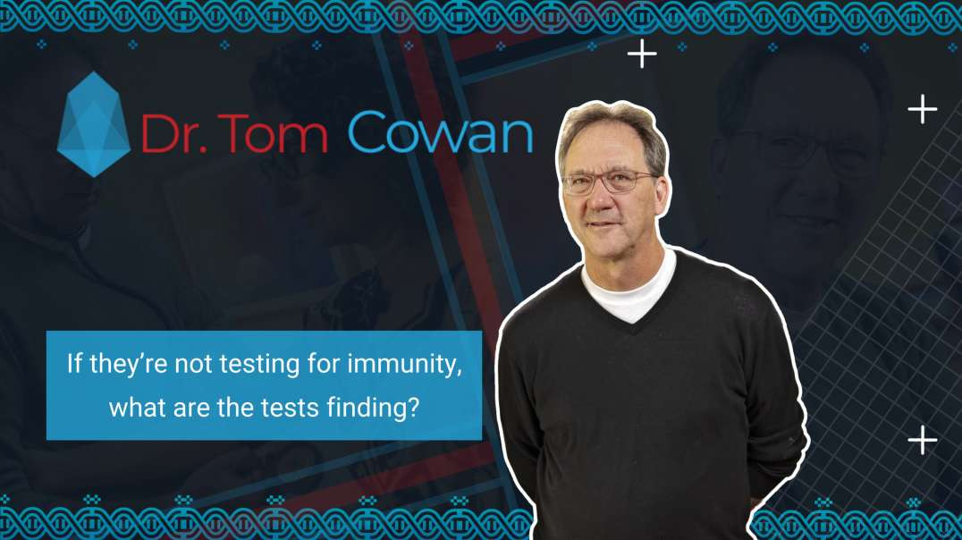 If they're not testing for immunity, what are the tests finding?