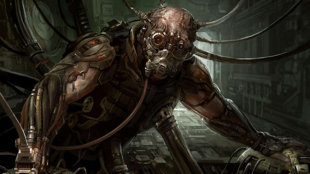 Biomechanical Creatures In The Lower Astral