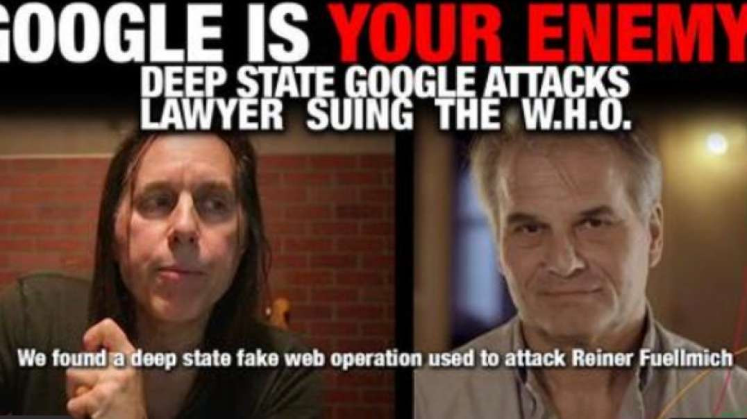 GOOGLE IS YOUR ENEMY - THE DEEP STATE GOOGLE TRYING TO TAKE DOWN ANOTHER HERO