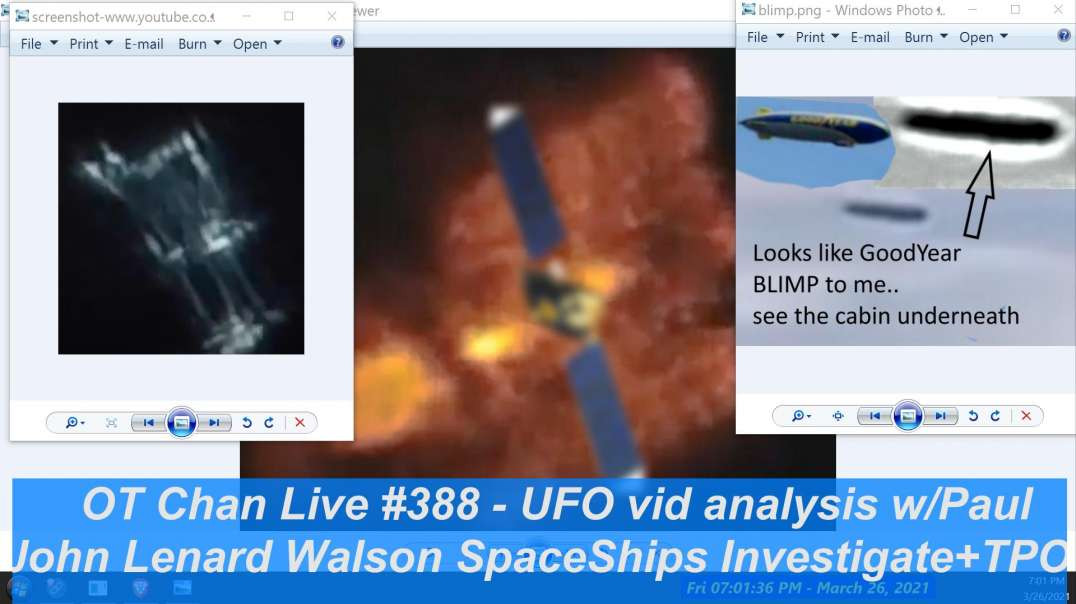 John Lenard Walson Large Space Ships Investigated + Killing TPOM UAP noise again!]- OT Chan Live-388