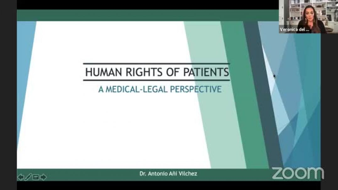 COMUSAV - Dr. Antonio Ani Vilchez - The Human Rights of Patients from a Medical-Legal Perspective