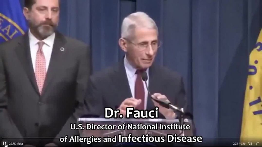 Dr. Fauci said that asymptomatic carriers don't spread viruses, so why follow any of the convid