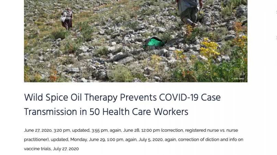 Vaccinated Nurses Protected with Wild Oregano Oil with Little to No Side Effects