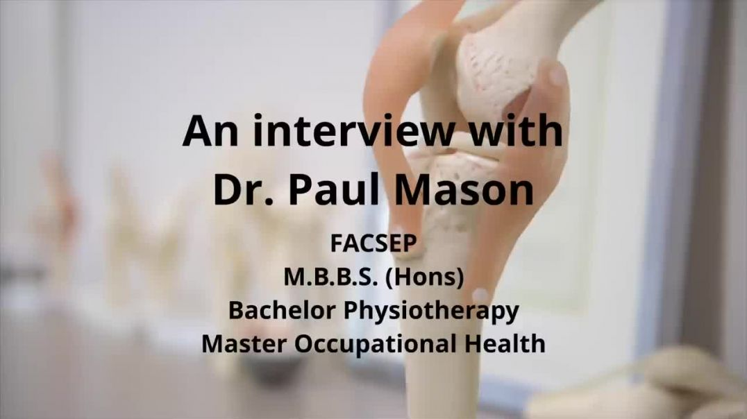 VEGAN MYTHS-  An Interview with Dr Paul Mason