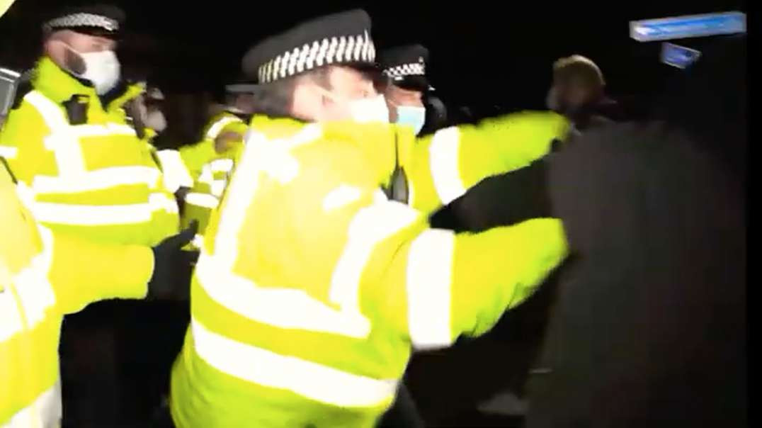 FOR the HEAVY-HANDED POLICING TACTICS LONDON MAYOR SADIQ KHAN Should RESIGN AND ACCEPT RESPONSIBILIT