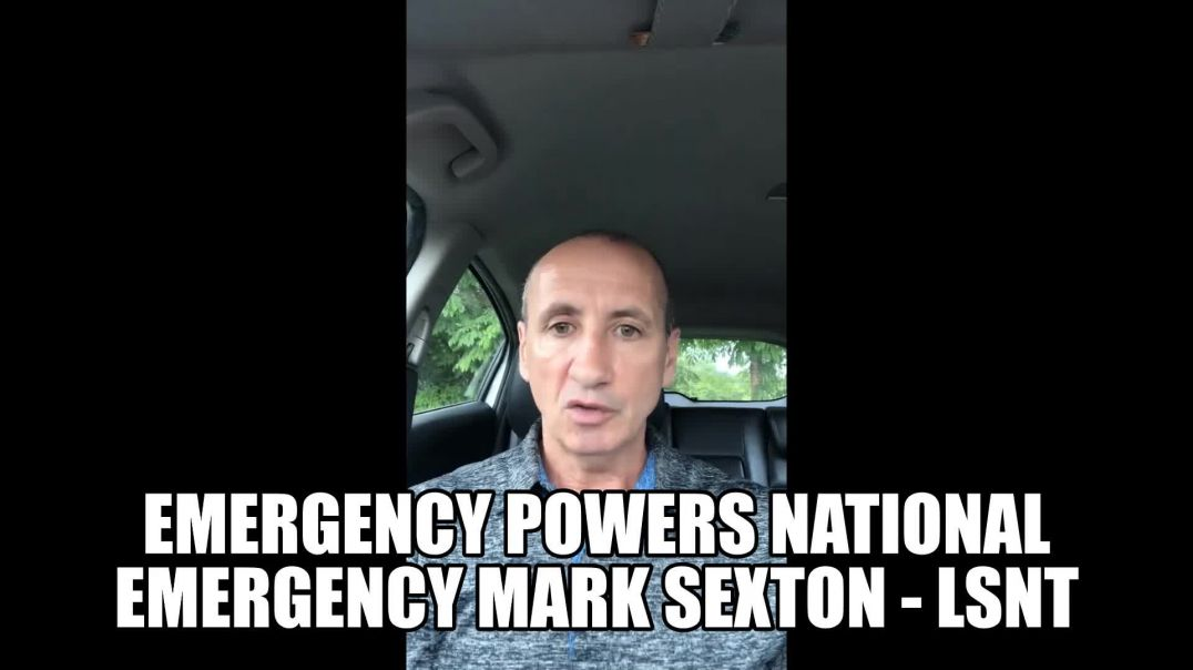 Ex UK Police Officer Mark Sexton NEW 21/04/21 Emergency Powers & National Emergency