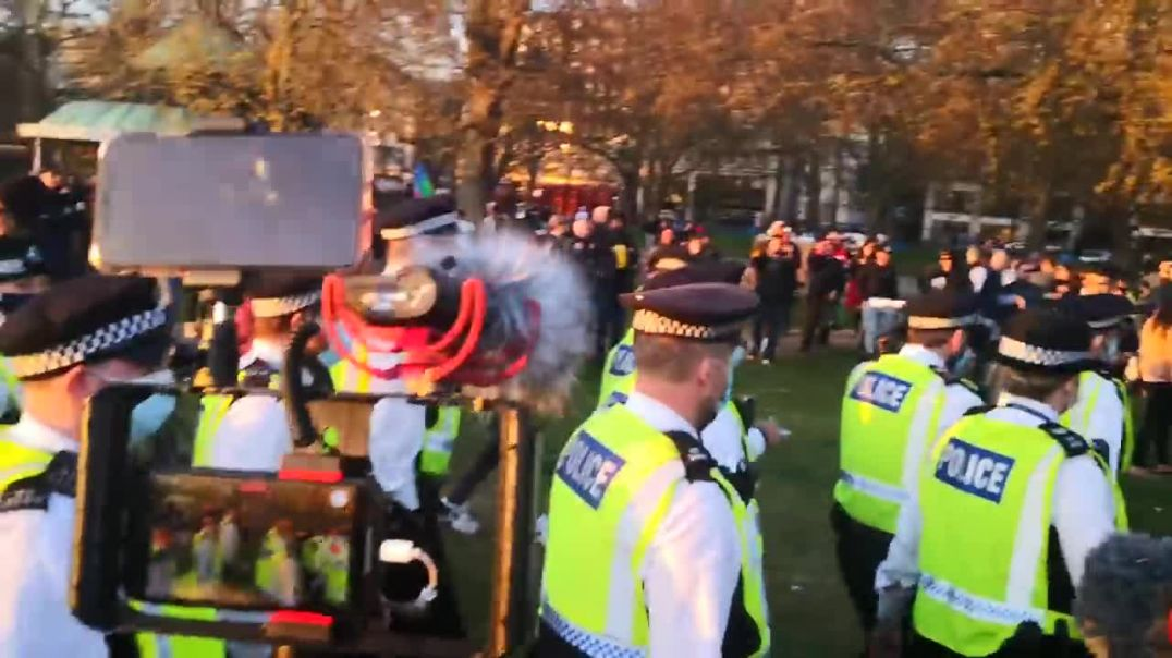 POLICE TRY TO END PARTY IN HYDE PARK...& IT BACKFIRES!#