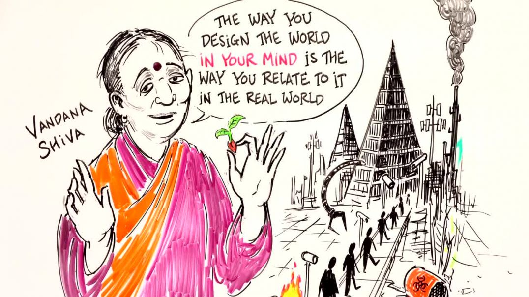 DIVIDE AND RULE - The Plan of The 1% to Make You DISPOSABLE - Vandana Shiva