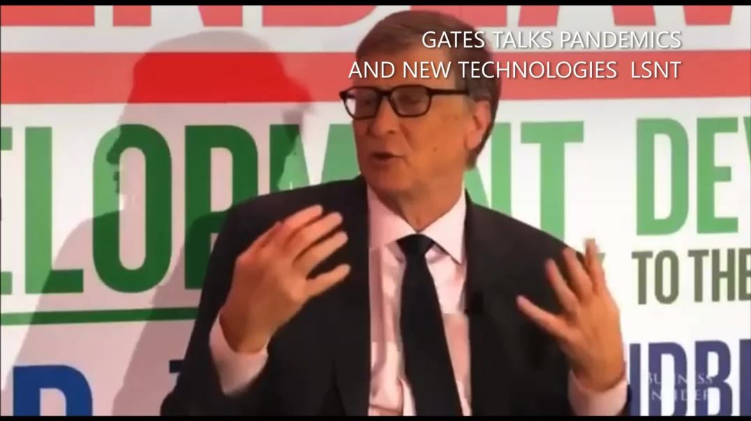 Bill Gates Talks Pandemics and New Medical Technologies GREAT AWAKENING