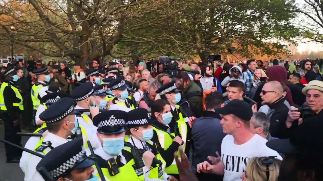 Chaos At HYDE PARK! Antifa? Britain Is Waking UP