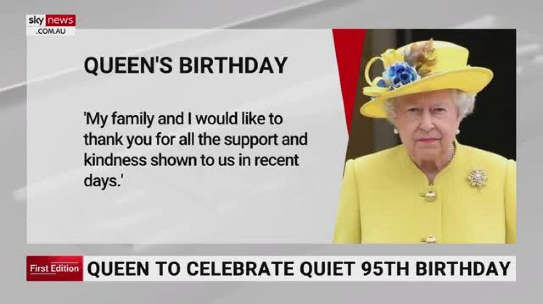 Queen CELEBRATES her birthday SO SOON after the death of her husband - Prince Philip.