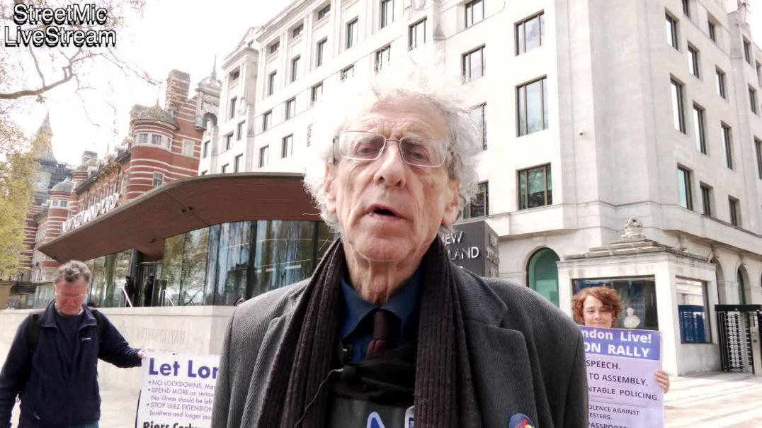Piers Corbyn & Dr Heiko Khoo call for police accountability for the 24th April police attack