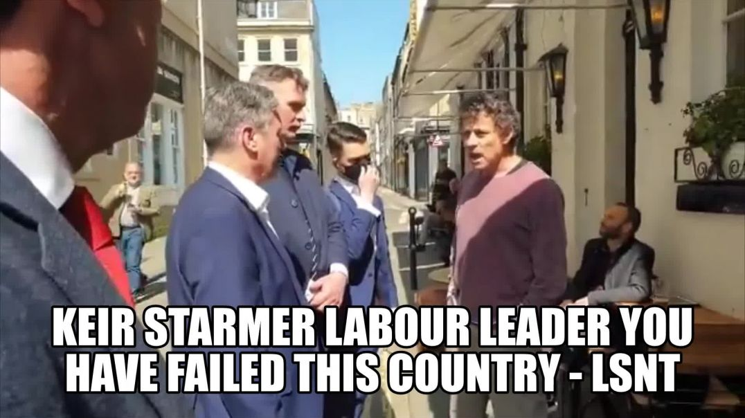 Get Out of My Pub Keir Starmer Labour Leader Thrown Out By Landlord in UK