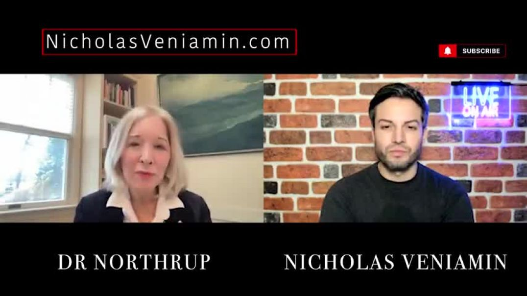 Dr Northrup Discusses Vaccines, Chromosome 8 and DNA Manipulator with Nicholas Veniamin