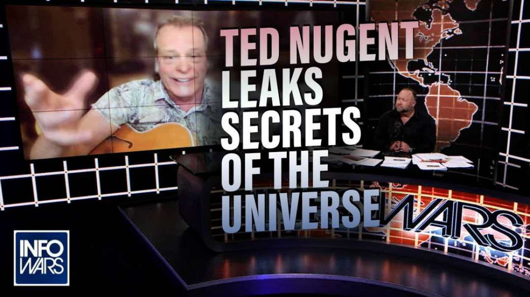 Exclusive: Ted Nugent Leaks Secrets of the Universe with Alex Jones