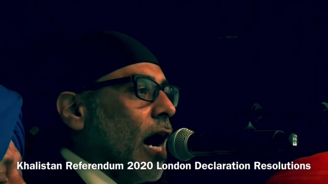 Khalistan Referendum 2020 Resolutions | London | Yes2Khalistan