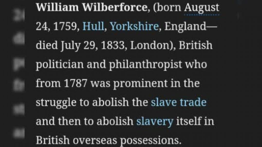 William Wilberforce - The Christian Man Who Ended The Slave Trade