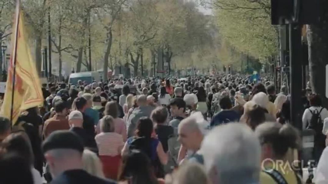 Humanity On It's Feet - Oracle Films - London 24th April 202