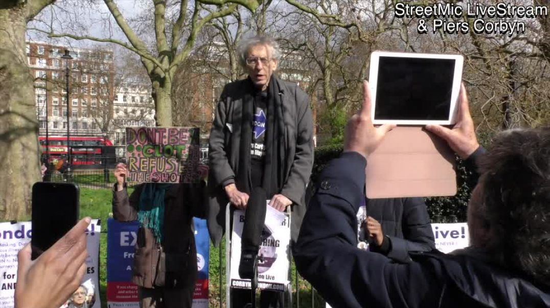 "Piers Corbyn says ""We'll sweep out fake science with the scrubbing brush of accountability"