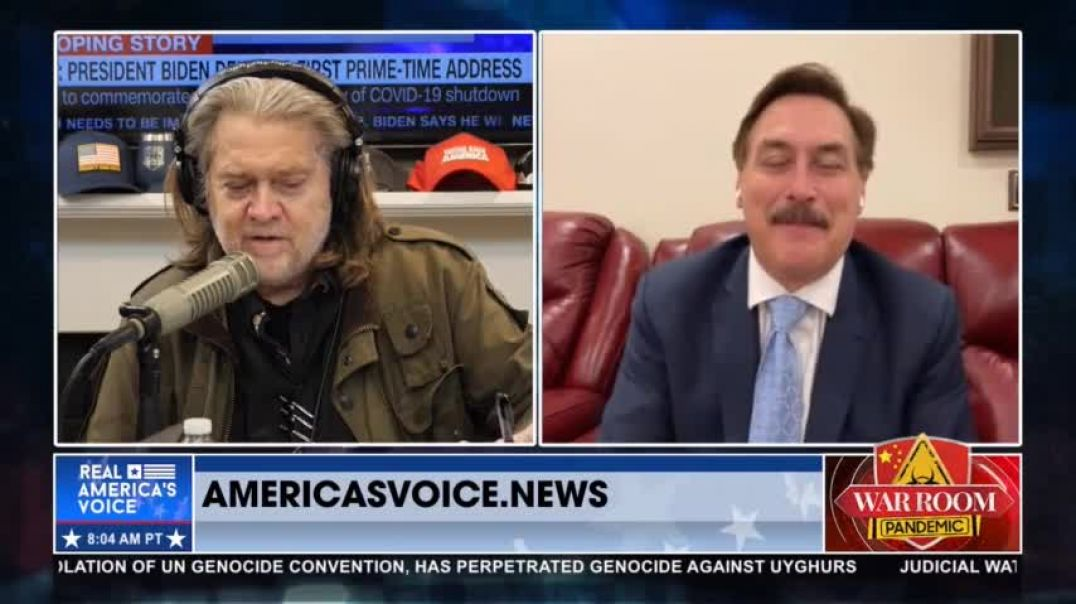 Mike Lindell STARTS NEW MEDIA PLATFORM!-2 COUNTER LAWSUITS!-TOTAL RECALL!  STEVE BANNON NEW WOW!