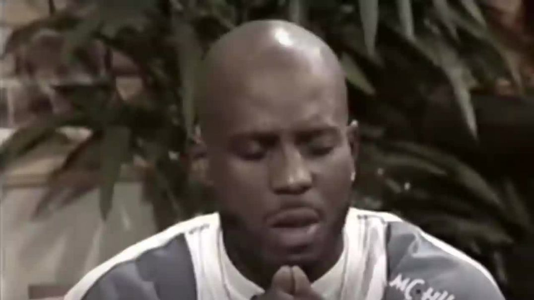DMX: GIVES A BREATHTAKING PRAYER