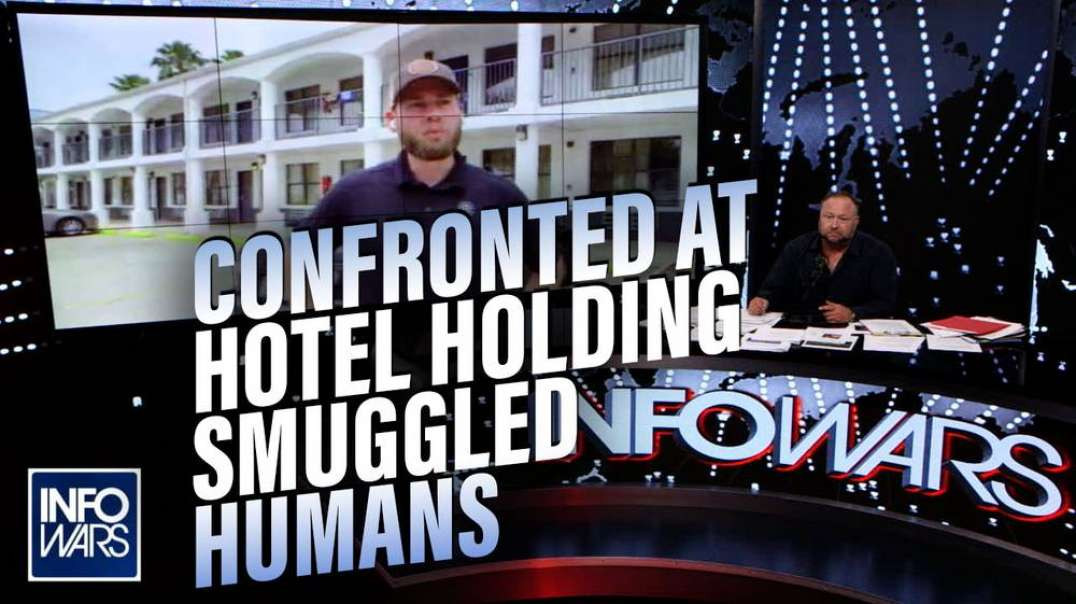 VIDEO: Reporters Confronted When Visiting Hotel Holding Smuggled Humans