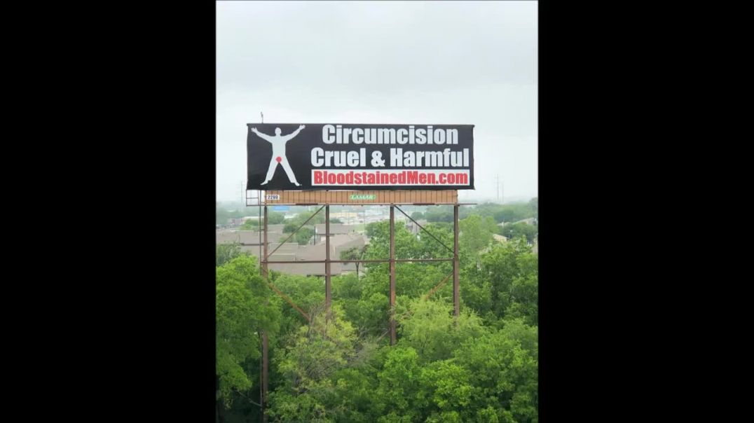 There's a Bloodstained Men Billboard in Dallas