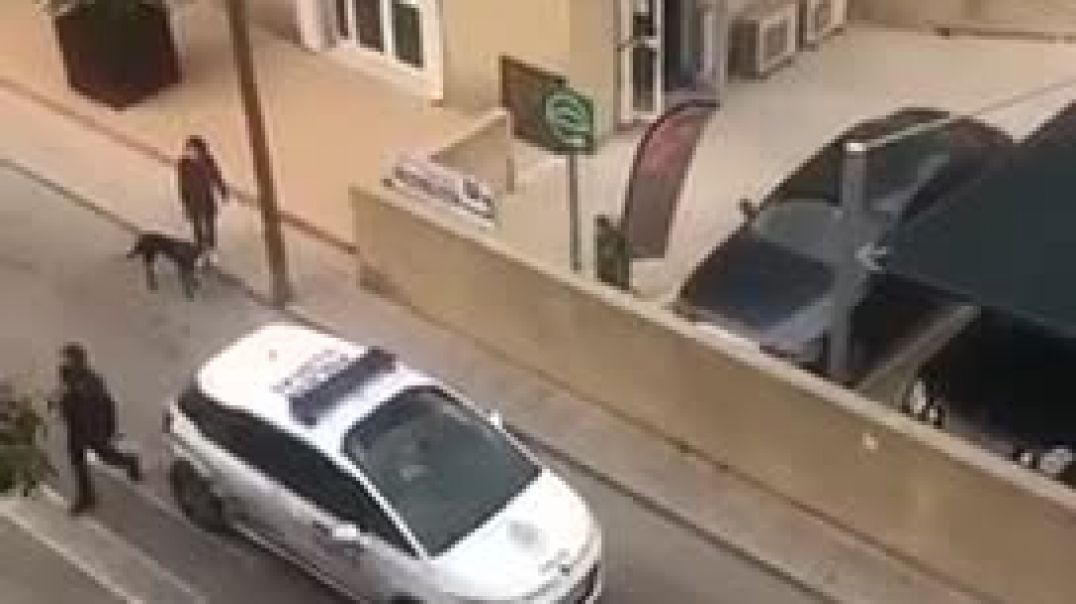 Man refuses to wear a mask in Majorca/Spain